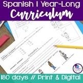 Spanish 1 Curriculum