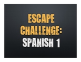 Spanish 1 Escape Challenge