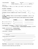 Spanish 1 Exam