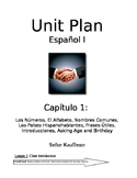 Spanish 1 Expresate 1 entire year lessons and resources (Chapters 1-6)