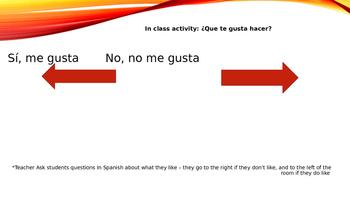 Spanish 1 ¡Expresate! Ch. 3