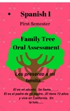 Spanish Project Family Tree and Oral Assessment with Rubrics