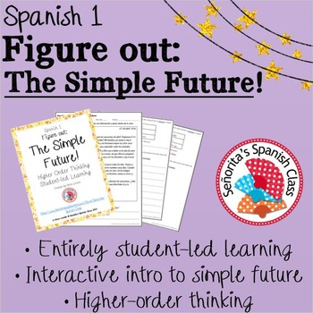 Spanish 1 - Figure Out: The Simple Future (ir + a + infinitive)