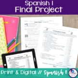Spanish 1 Final Project {Distance Learning}