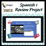 Spanish 1 Final Project-Based Learning - Study Abroad (51 Pages, 11 Activities)