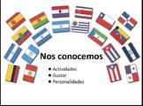 Spanish 1 Flipchart- Activities and Personalities