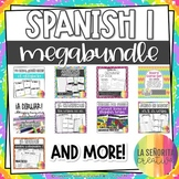Spanish 1 Grammar Mega Bundle
