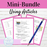 Spanish Definite and Indefinite Articles Mini Bundle