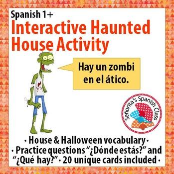 Spanish 1 - Interactive Halloween Activity