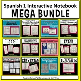 Spanish 1 Interactive Notebook MEGA BUNDLE
