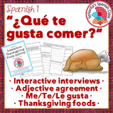 Spanish 1 - Interactive Thanksgiving (Dia de Accion de Gra