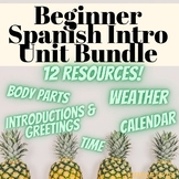 Spanish 1 Introductory Unit Bundle (Para Empezar)