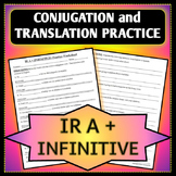 Spanish 1 - Ir a + Infinitive Conjugation and Translation Worksheet