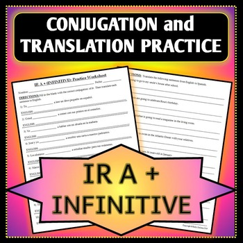 Spanish 1 - Ir a + Infinitive Conjugation and Translation
