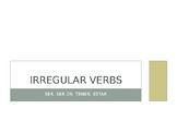 Spanish 1 Irregular Verbs