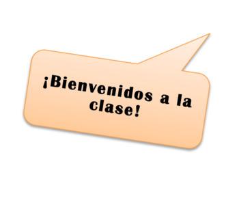 Spanish 1 La Clase (The Class) - Set of 2 Dialogues (Realidades Para Empezar)