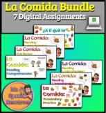Spanish 1 La Comida Food Unit BUNDLE - Distance Learning Edition!