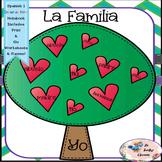 Spanish 1 La Familia -  Interactive Notebooks