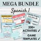 Spanish 1 Mega Activity Bundle