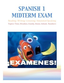 Spanish 1 Midterm Exam