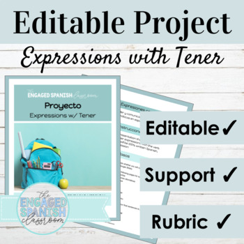Spanish Mini- Project: Presentation of Spanish idioms / expressions with TENER