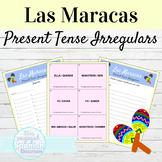 Spanish Present Tense Irregular Verbs Maracas Activity