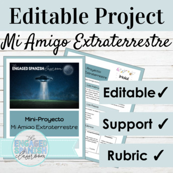 Spanish Project Mi Amigo Extraterrestre: Introducing and D