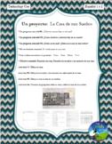La Casa de Mis Sueños - Proyecto - Designing your Dream House - Spanish 1 & 2