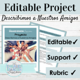 Editable Spanish Project for Ser and Subject Pronouns | De