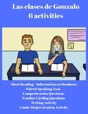 Spanish 1 Reading & 4 activities: School, Classes, Teacher