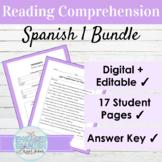 Spanish 1 Reading Comprehension BUNDLE
