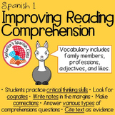 Spanish 1 - Reading Comprehension: My Family