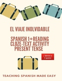 Spanish 1+ Reading, Dialogue- Travel Spain, present tense,