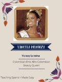 Spanish 1 Reading: First Afro-Colombian Beauty Queen ( 4 Activities)