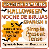 Spanish 1 Reading - Halloween