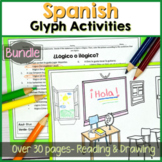 Spanish 1 Reading & coloring activities Bundle