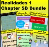 Spanish 1 Realidades 1 Chapter 5B Bundle