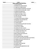 Spanish 1 Realidades 1B Vocab Definitions Quiz