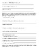 Spanish 1: Reflexive Verb Sheet