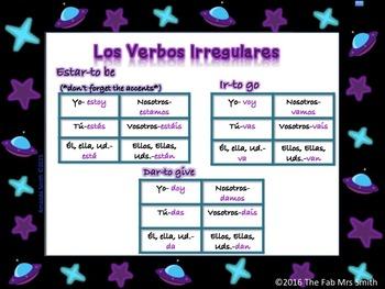 Spanish 1 Refresher into Spanish 2