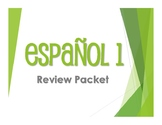 Spanish 1 Review Packet