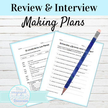 Spanish 1 Review and Classmate Interview: Venir, Tener, Ir + a, with invitations