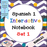Spanish 1 -  Set 1 - Interactive Notebooks - Bundle