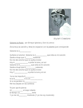 Spanish 1 Catchy song and Grammar activity- Gerunds/ Direct Object Pronouns