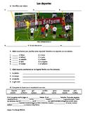 Spanish 1 Sports Vocabulary Worksheet