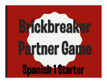 Spanish 1 Starter Brickbreaker Game