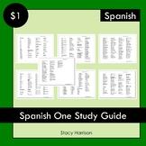 Spanish 1 Study Guide