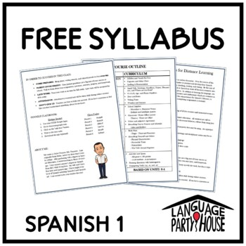 Free Spanish 1 Syllabus