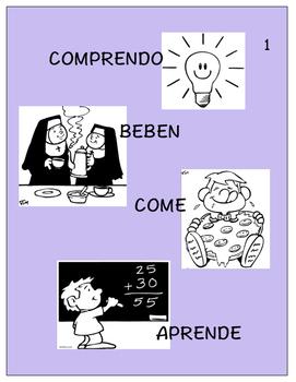Spanish 1,2: Three TPRS Stories with CI Activities, Regular -ER Verbs (Bundle)