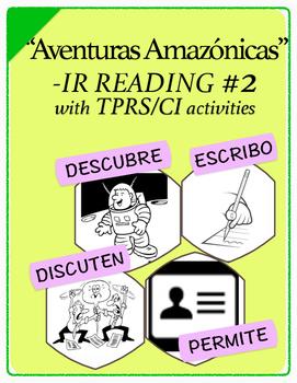Span 1,2: TPRS Story w/ CI, IR verbs, Pkt2(descubrir,discutir,escribir,permitir)